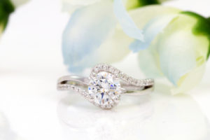 Radiant Cut Diamond Engagement Ring Settings